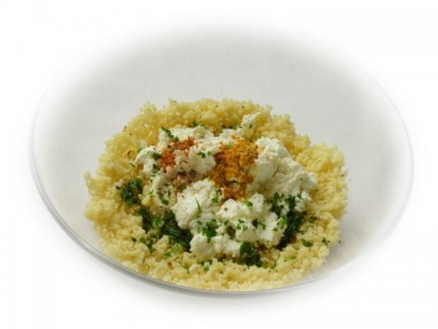 Couscous-Stäbchen zu gebratenem Zanderfilet an Limettensauce - Rezept - Bild Nr. 4