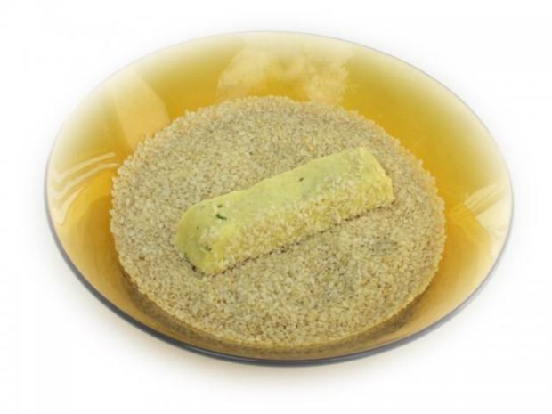Couscous-Stäbchen zu gebratenem Zanderfilet an Limettensauce - Rezept - Bild Nr. 7