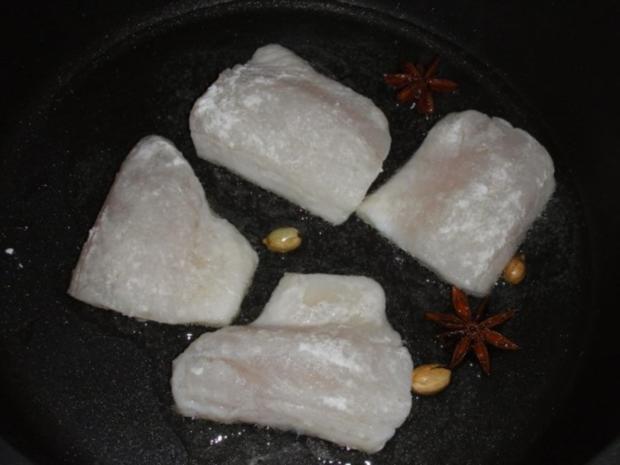 Couscous-Stäbchen zu gebratenem Zanderfilet an Limettensauce - Rezept - Bild Nr. 15