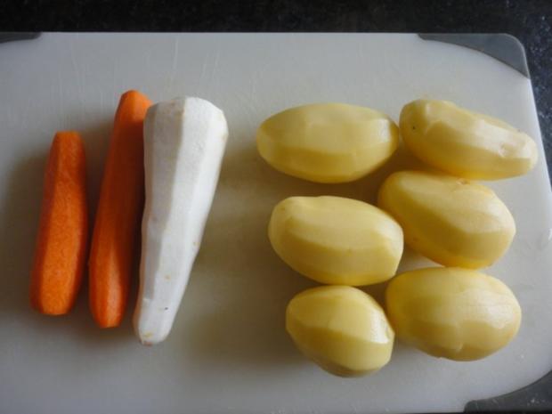 Kartoffel Suppe mit Gemüse Topping - Rezept - Bild Nr. 2