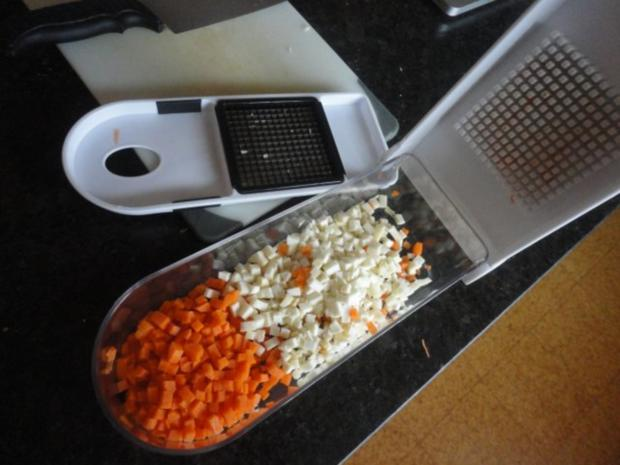 Kartoffel Suppe mit Gemüse Topping - Rezept - Bild Nr. 7