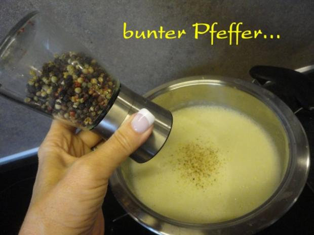 Kartoffel Suppe mit Gemüse Topping - Rezept - Bild Nr. 15