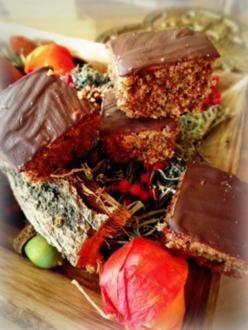 Weihnachtsplätzchen: Schokoladenbrot - Rezept