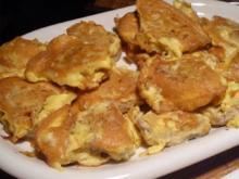 Schweinelendchen in Parmesan-Ei-Hülle - Rezept