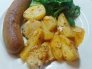Zitronen-Knoblauch-Kartoffeln und -Kohlrabi - Rezept