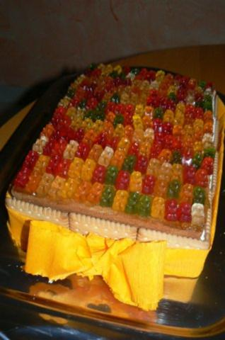 Gummibarchen Kase Sahne Torte Rezept Kochbar De
