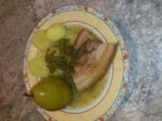 Birnen, Bohnen und Speck mit Kartoffeln a la Netti - Rezept