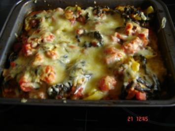 Tortellini-Spinat-Auflauf - Rezept