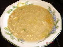 gebrannte Grießsuppe - Rezept