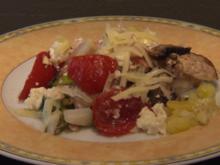 Wildlachs in Folie gegart und hausgemachte Salbei-Gnocchi - Rezept