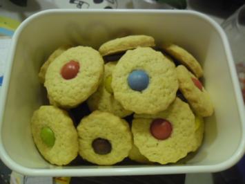 Kekse mit Smarties - Rezept
