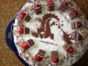 Kinderschokoladen Torte - Rezept