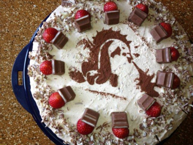 Kinderschokoladen Torte Rezept Mit Bild Kochbar De