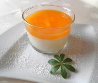 Schmand - Dessert mit Kaki - Sauce ... - Rezept