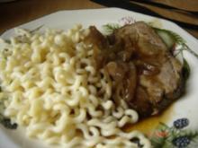 Schweinenackenbraten - Rezept