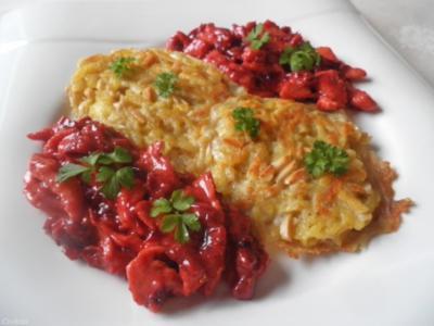 Rote Bete - Hähnchen - Geschnetzeltes ... - Rezept