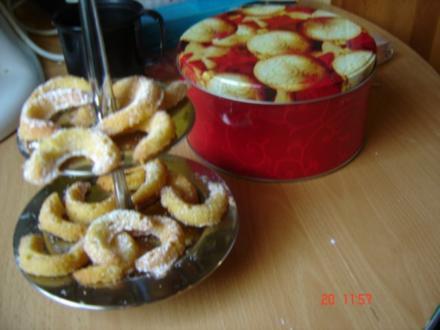 Vanillekipferl für das Backblech - Rezept