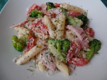 Parmesan-Broccoli-Pasta - Rezept