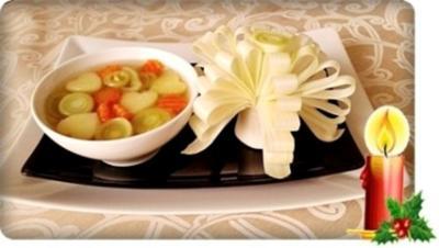 Herzhafte Lauch Suppe - Rezept