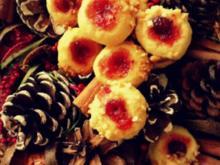 Weihnachtsplätzchen: Kulleraugen mit Krokant - Rezept