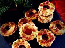Weihnachtsplätzchen: Pistazien-Cranberry-Kringel - Rezept
