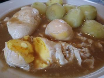 Vegetarisch: 'Sauere Eier' mit Kartoffeln - Rezept