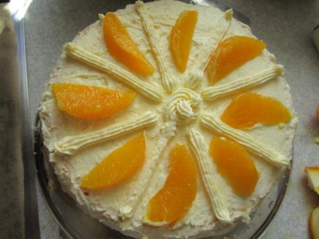 Torten: Apfelsinentorte von meiner Mama - Rezept