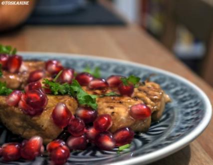 Granatapfel-Hähnchen - Rezept