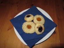 Vanille-Butterkekse im Kokosmantel - Rezept