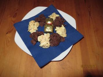 Weisse und braune Knusperle - Rezept