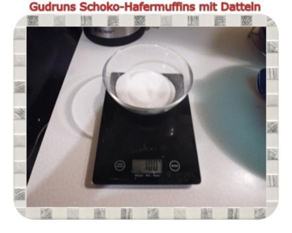 Muffins: Schoko-Hafermuffins mit Datteln - Rezept - Bild Nr. 4