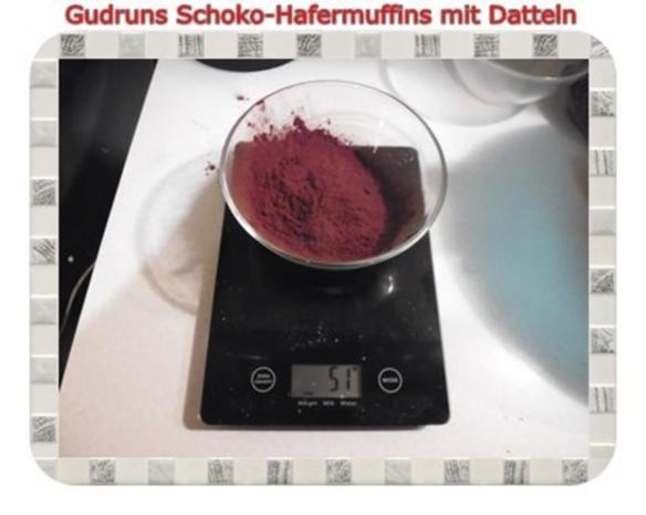 Muffins: Schoko-Hafermuffins mit Datteln - Rezept - Bild Nr. 6