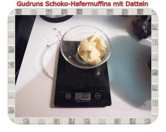 Muffins: Schoko-Hafermuffins mit Datteln - Rezept - Bild Nr. 7