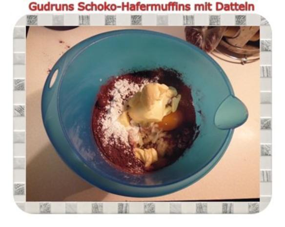 Muffins: Schoko-Hafermuffins mit Datteln - Rezept - Bild Nr. 8
