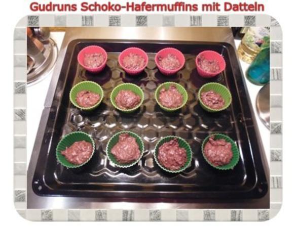 Muffins: Schoko-Hafermuffins mit Datteln - Rezept - Bild Nr. 10