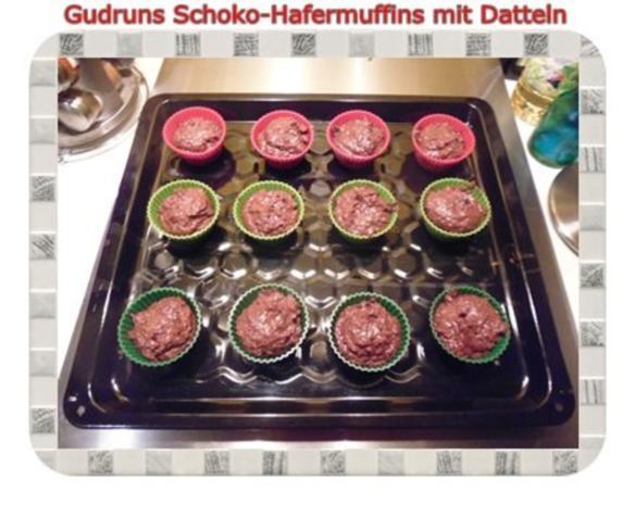 Muffins: Schoko-Hafermuffins mit Datteln - Rezept - Bild Nr. 11