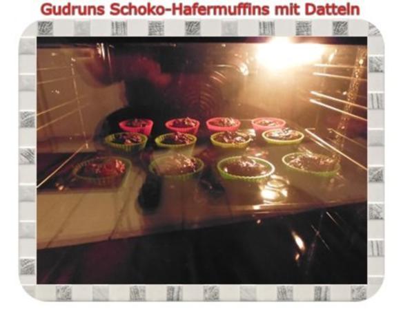 Muffins: Schoko-Hafermuffins mit Datteln - Rezept - Bild Nr. 12