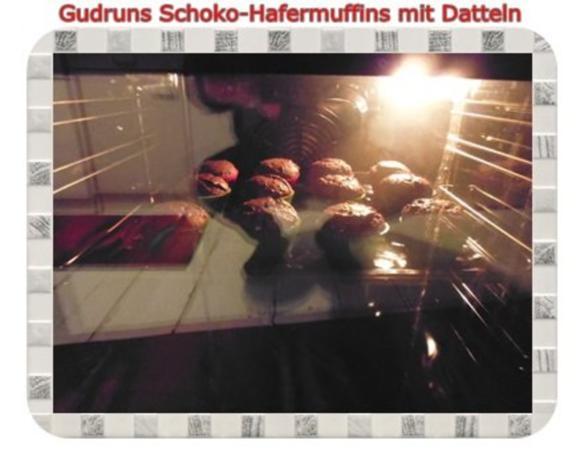 Muffins: Schoko-Hafermuffins mit Datteln - Rezept - Bild Nr. 13
