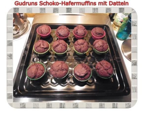 Muffins: Schoko-Hafermuffins mit Datteln - Rezept - Bild Nr. 14