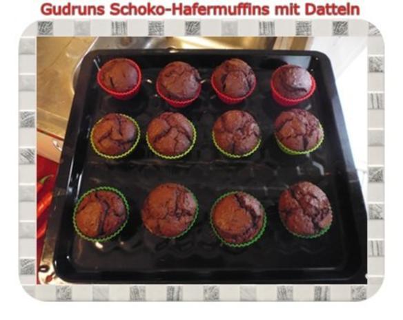 Muffins: Schoko-Hafermuffins mit Datteln - Rezept - Bild Nr. 15