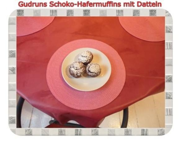 Muffins: Schoko-Hafermuffins mit Datteln - Rezept - Bild Nr. 18