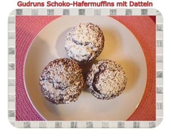 Muffins: Schoko-Hafermuffins mit Datteln - Rezept - Bild Nr. 19
