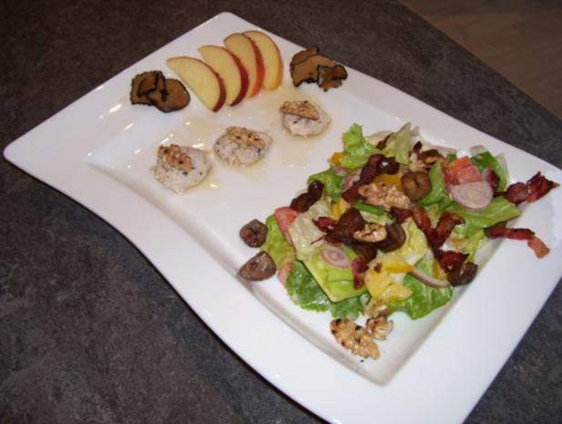 Wintersalat wird zum Festtagssalat de luxe - Rezept - Bild Nr. 5