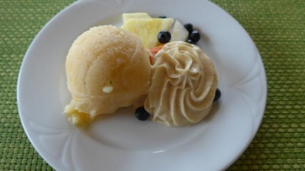 Geeiste Melone an Obst und Quark nach Budwig - Rezept - Bild Nr. 2