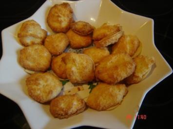 Kokosplätzchen mit Quark - Rezept