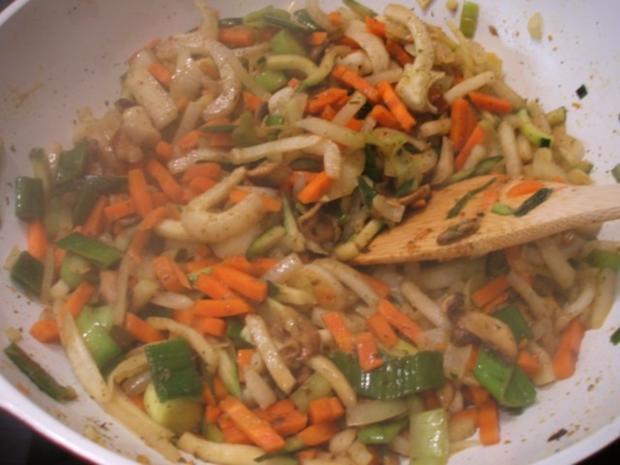 Geflügel: Straußensteaks mit buntem Gemüse aus dem Wok - Rezept - Bild Nr. 6