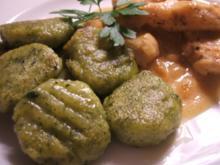Kartoffeln: Spinat-Gnocchi - nur aus Resten - Rezept
