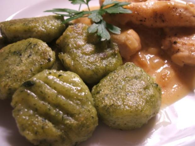 Spinat kartoffel gnocchi rezept