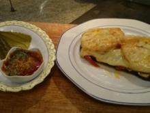 sandwich ayleens art-schnelle sache-resteküche-leckere sache - Rezept