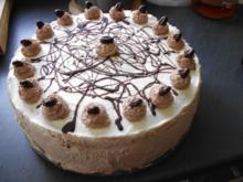 Stracciatella-Sahne-Torte - Rezept
